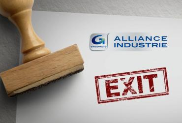Exit : ALLIANCE & INDUSTRIES
